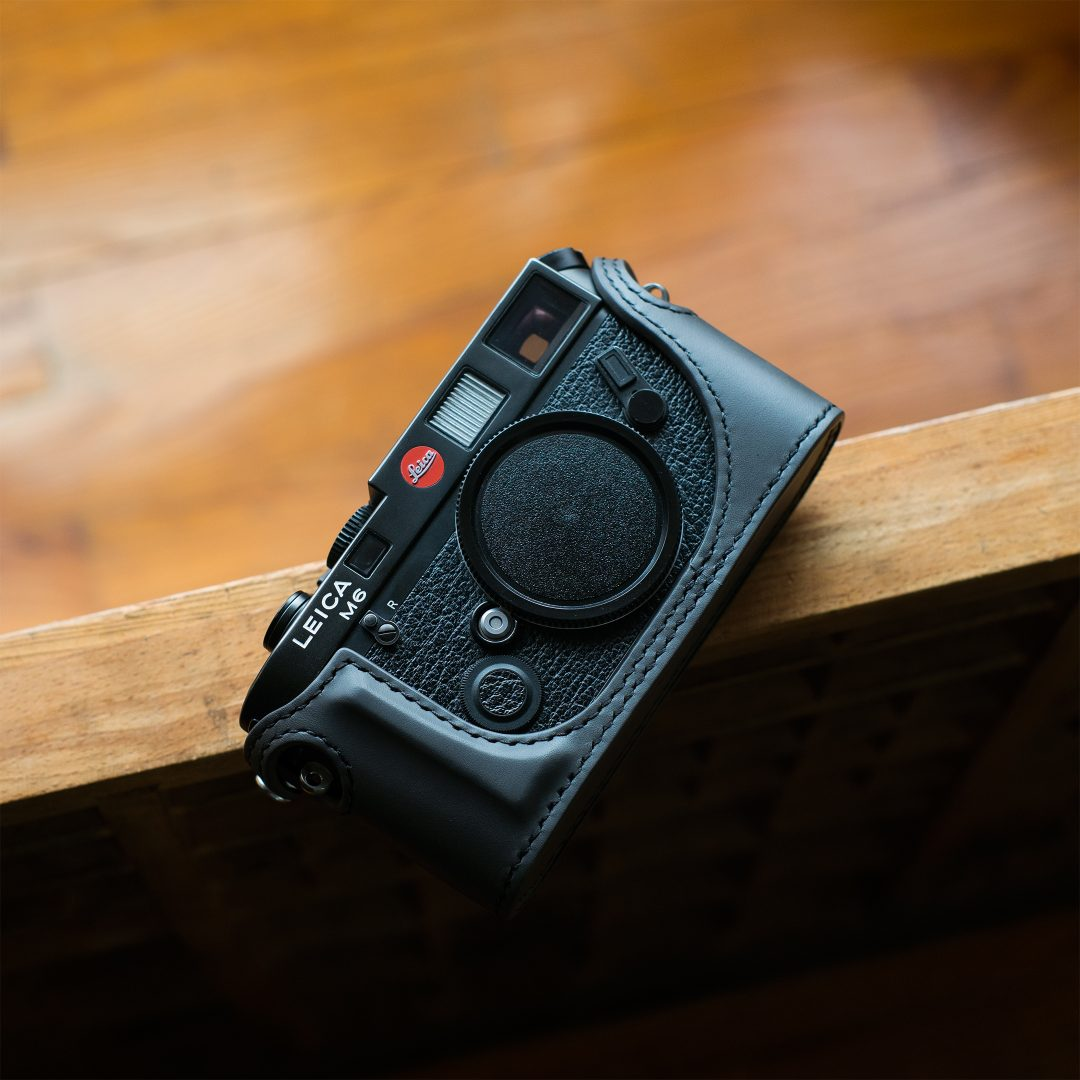 Leica M Leather Case for M2 M3 M4 with self-timer